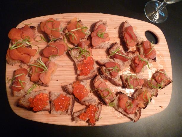 Oeufs de saumon / mulet