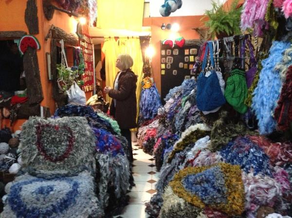intérieur boutique totora