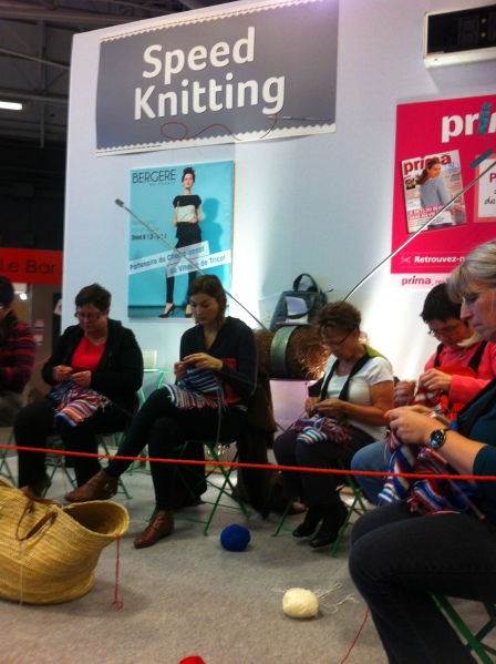 speed knitting AEF 2014
