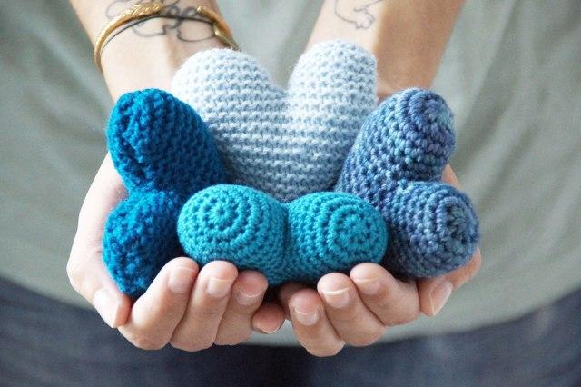 Coeurs crochet © Ninoo