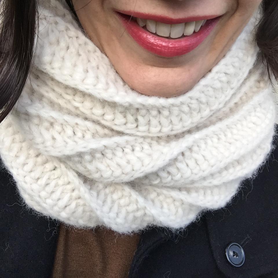 tricoter un snood au crochet