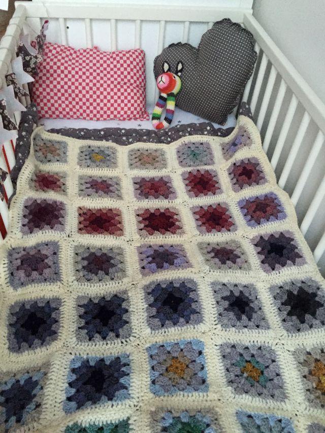 Baby blanket Les prairies du 5